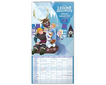 Náhled produktu Nástěnný kalendář Rodinný plánovací XXL - Ledové království 2020