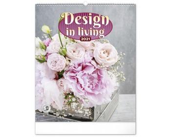 Náhled produktu Nástěnný kalendář Design in Living 2021
