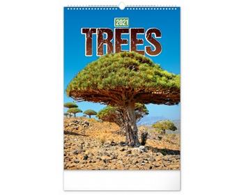 Náhled produktu Nástěnný kalendář Stromy 2021