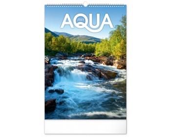 Náhled produktu Nástěnný kalendář Voda 2021