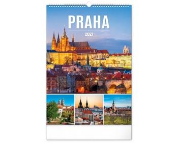 Náhled produktu Nástěnný kalendář Praha 2021