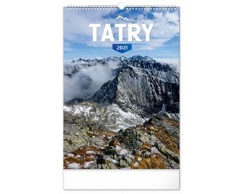 Náhled produktu Nástěnný kalendář Tatry 2021 - slovenský