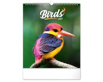 Náhled produktu Nástěnný kalendář Ptáci 2021