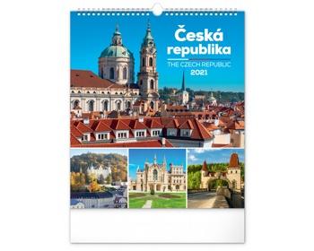 Náhled produktu Nástěnný kalendář Česká republika 2021