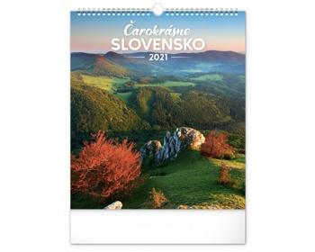 Náhled produktu Nástěnný kalendář Čarokrásne Slovensko 2021 - slovenský