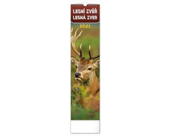 Náhled produktu Nástěnný kalendář Lesní zvěř - Lesná zver 2021