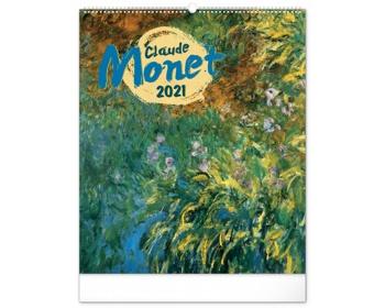 Náhled produktu Nástěnný kalendář Claude Monet 2021