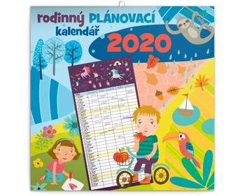 Náhled produktu Nástěnný kalendář Rodinný plánovací 2020