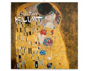 Náhled produktu Nástěnný kalendář Gustav Klimt 2020 - poznámkový
