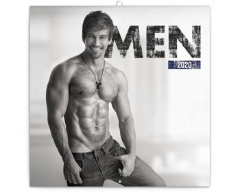 Náhled produktu Nástěnný kalendář Muži 2020 - poznámkový