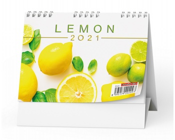 Náhled produktu Stolní kalendář Lemon 2021