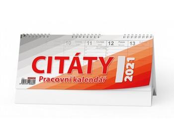 Náhled produktu Stolní kalendář CITÁTY I 2020