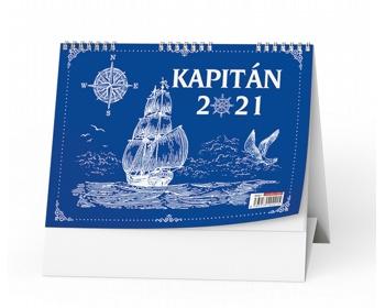 Náhled produktu Stolní kalendář Kapitán 2021