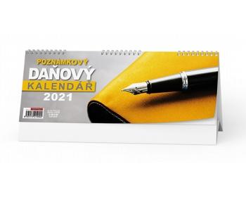 Náhled produktu Stolní kalendář Poznámkový daňový 2021