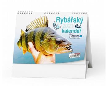 Náhled produktu Stolní kalendář Rybář 2020