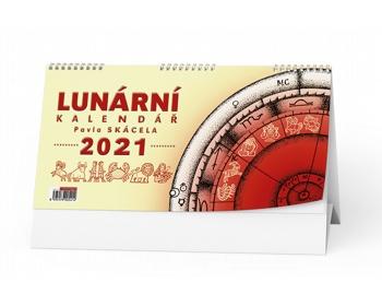 Náhled produktu Stolní kalendář Lunární Pavla Skácela 2020