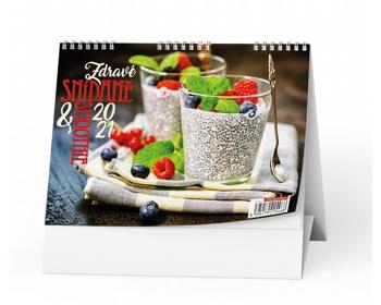 Náhled produktu Stolní kalendář Zdravé snídaně&smoothie 2021