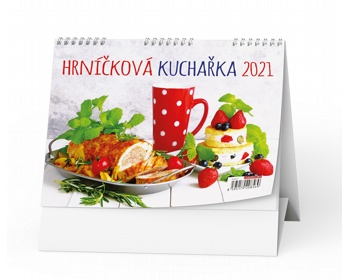 Náhled produktu Stolní kalendář Hrníčková kuchařka 2021