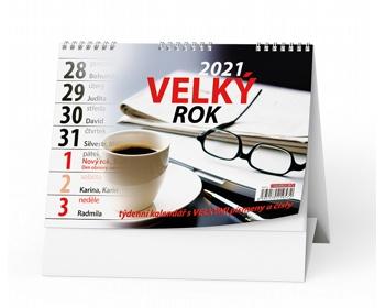 Náhled produktu Stolní kalendář Velký rok 2020