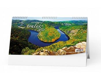 Náhled produktu Stolní kalendář Z toulek 2021