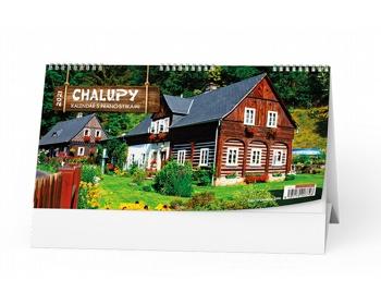 Náhled produktu Stolní kalendář Chalupy 2021