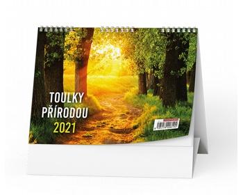 Náhled produktu Stolní kalendář Toulky přírodou 2021