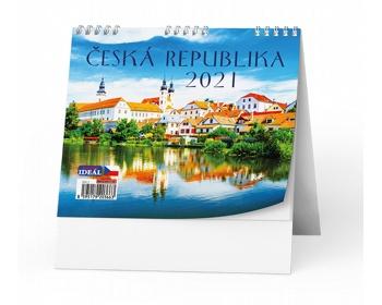 Náhled produktu Stolní kalendář IDEÁL 2020 - Česká republika