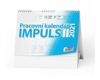 Náhled produktu Stolní kalendář IMPULS II 2021