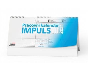 Náhled produktu Stolní kalendář IMPULS III 2021