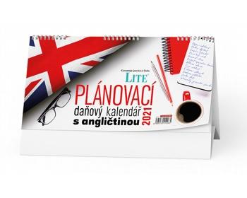 Náhled produktu Stolní kalendář Plánovací daňový s angličtinou 2021