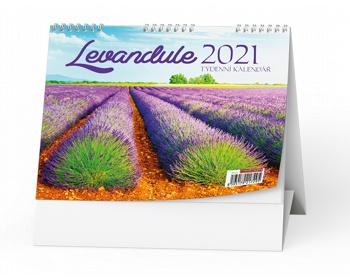 Náhled produktu Stolní kalendář Levandule 2020