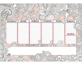 Náhled produktu Stolní plánovací kalendář Antistres 2020, A2 - 30 listů