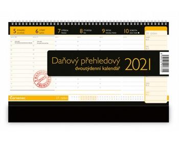 Náhled produktu Stolní kalendář Daňový přehledový 2021