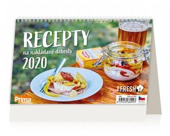 Náhled produktu Stolní kalendář Recepty na nakládané dobroty 2020