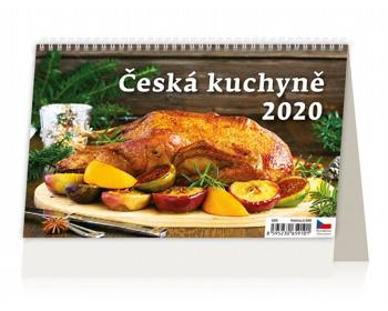 Náhled produktu Stolní kalendář Česká kuchyně 2020