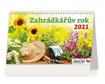 Náhled produktu Stolní kalendář Zahrádkářův rok 2021
