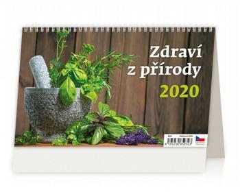 Náhled produktu Stolní kalendář Zdraví z přírody 2020
