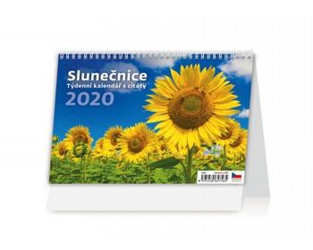 Náhled produktu Stolní kalendář Slunečnice 2020