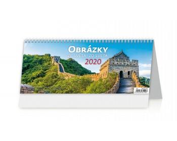 Náhled produktu Stolní kalendář Obrázky ze světa / Obrázky zo světa 2020