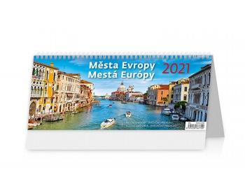 Náhled produktu Stolní kalendář Města Evropy/Mestá Európy 2021