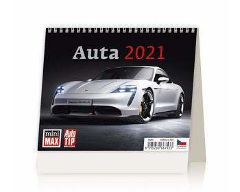Náhled produktu Stolní kalendář Auta 2021 - MiniMax