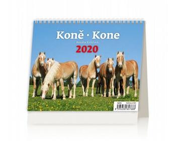 Náhled produktu Stolní kalendář Koně / Kone 2020 - MiniMax