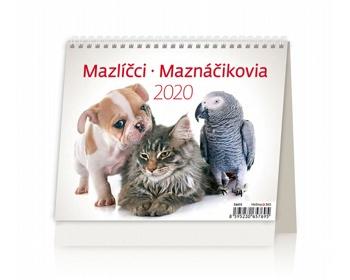 Náhled produktu Stolní kalendář Mazlíčci / Maznáčikovia 2020 - MiniMax