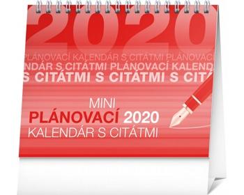 Náhled produktu Stolní kalendář Plánovací s citátmi 2020 - slovenský