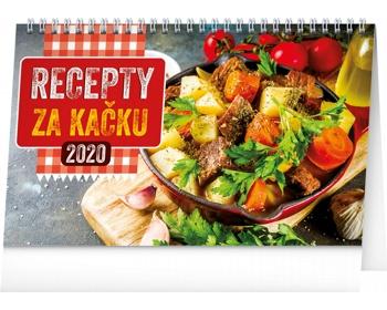 Náhled produktu Stolní kalendář Recepty za kačku 2020