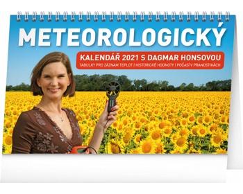 Náhled produktu Stolní kalendář Meteorologický s Dagmar Honsovou 2021