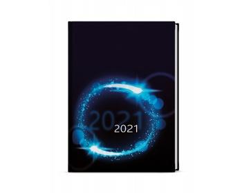 Náhled produktu Denní diář Adam Lamino 2020, B6 - pírka