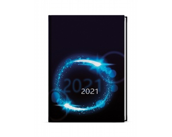 Náhled produktu Denní diář Adam Lamino 2021, B6 - kruh