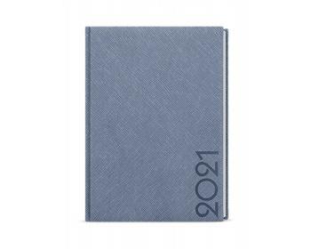 Náhled produktu Denní diář David Tora 2020, A5 - modro-šedá
