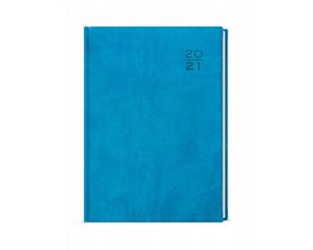 Náhled produktu Denní diář David Vivella 2020, A5 - světle modrá